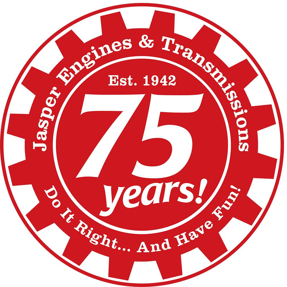 JASPER 75th anniversary badge